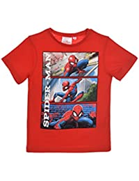 4b609592b Spiderman Camiseta de Manga Corta - para Niño