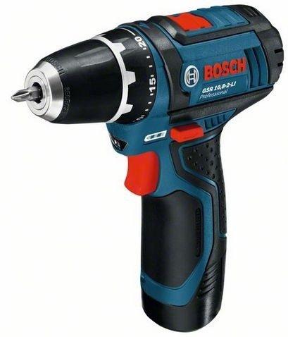 Bosch-Professional-Set: Bosch Akkuschrauber GSR 10,8-2-LI + Bosch Akkustichsäge GST 10,8 V-LI - 3