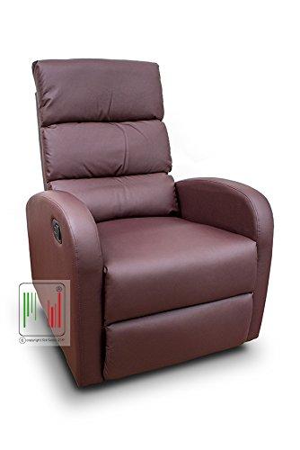 Poltrone Relax Tv.Stil Sedie Poltrona Reclinabile Recliner Con Tre Livelli