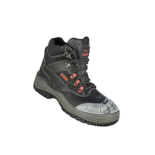 Jallatte Jaldrilling Tampão Do Sas S3 Sapatos De Segurança Hro Trabalhar Sapatos Pretos