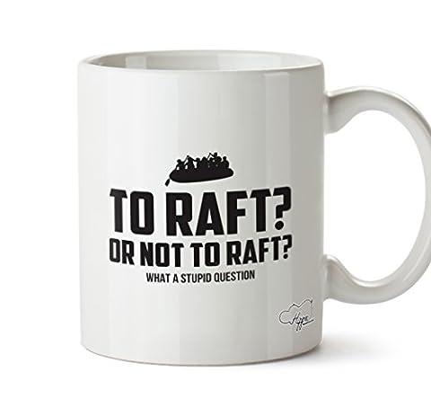 HippoWarehouse To raft or not to raft 10oz Mug Cup