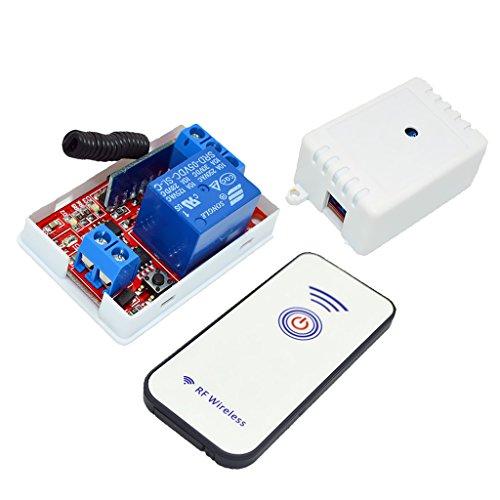 Gazechimp 1-Kanal 1-Button Infrarot-Empfänger Relais-Treiberplatine Fernbedienung Wireless Controller Plattenplatine IR-Fernbedienung Schalter - 5V RF