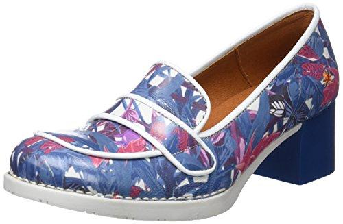 00a5f1eeaa8533 Art 0079f Fantasy Bristol, Fermé Toe Heel Chaussures Femmes Multicolore  (hawaii)