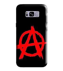 HiFi Designer Phone Back Case Cover Samsung S8 :: SamsungS8 :: G950F G950FD G950U G950A G950P G950T G950V G950R4 G950W G950S/G950K/G950L ( Letter A Alphabet )