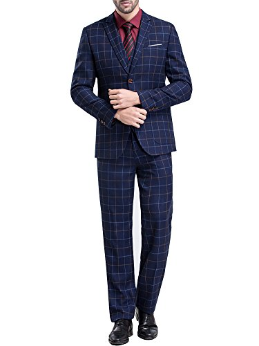 Tsui-Fashion -  Abito  - Attillata  - Uomo Blu
