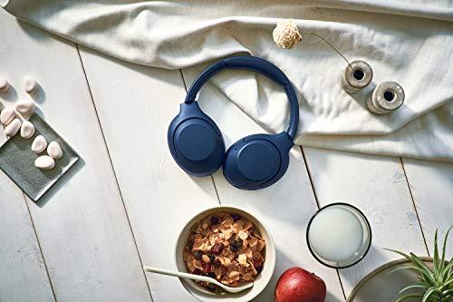 Sony WH-XB900N Bluetooth Noise Cancelling Kopfhörer (Extra Bass,30h Akku, Amazon Alexa & Google Assistant, Gestensteuerung) Blau - 7