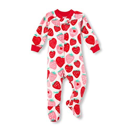 Carters Sleeper (Schlafanzug Fleece Einteiler 104/110 Mädchen Girl warm Weich Winter Reißverschluss US Size 5 t Sleeper Pajama (104/110, rosa))