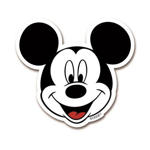 Magnet Mickey Mouse Portrait - Disney - Kühlschrankmagnet - Lizenziertes Originaldesign - (Hat Disney Mickey Ohren)