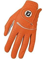 Footjoy FJ Spectrum - Gant de golf pour la main gauche (Composite) couleur: orange Taille: M