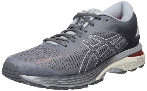 ASICS Women's Gel-Kayano 25 Carbon and Mid Grey Track and Field Shoes-5 UK/India (38 EU)(7 US)(1012A026.020)