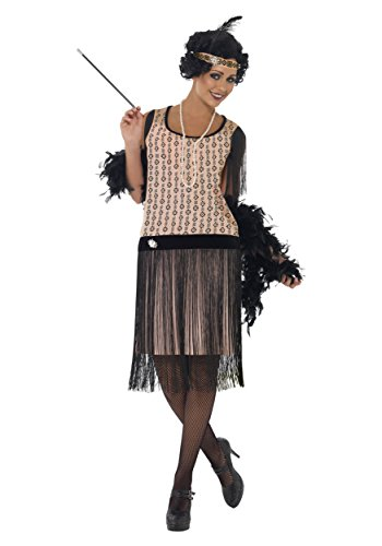 Women's Plus Size 1920s Coco Flapper Fancy dress costume 1X