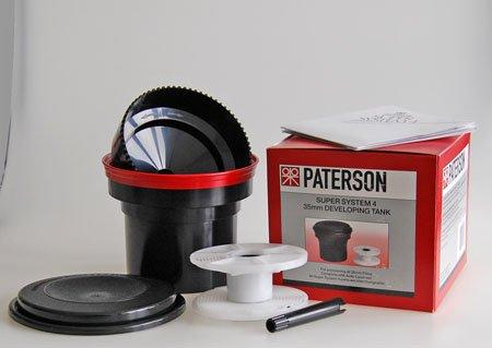 Paterson PTP114 Tanque de revelado con una espiral