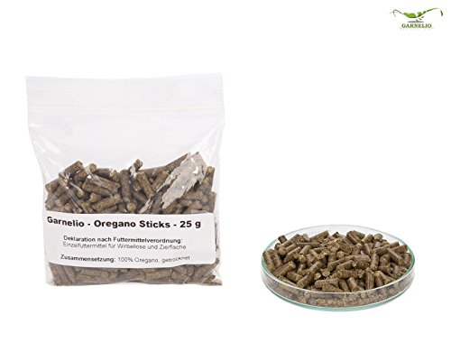 Garnelio – Oregano Sticks – 25 g – Garnelen Futter - 2