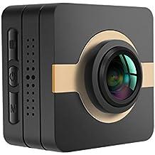 MATECam fotocamera 4K, action cam Wi-Fi, impermeabile fino a 30M di profondità, visuale a 160 gradi con Angolo di vista grandangolare Stabilizzazione d