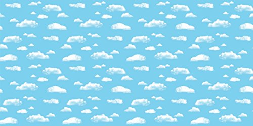 Fadeless Designs Bulletin Board Paper, Clouds, 50 ft x 48