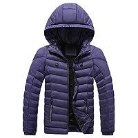 Men Hoodies Jacket Coat, Male Solid Long Sleeve Zipper Warm Tracksuit Outwear