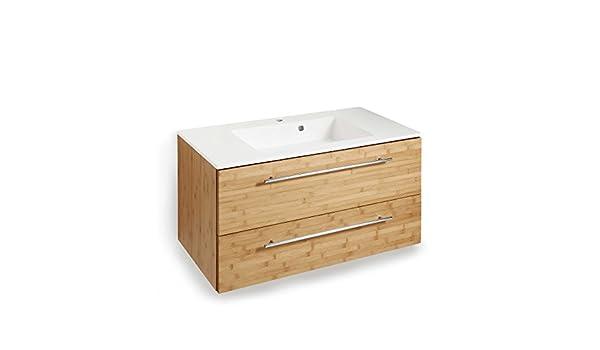 Amazon schildmeyer waschbeckenunterschrank top line bambus