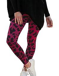 FAMILIZO Pantalones Mujer Cintura Alta Tallas Grandes Verano Cómodos Elásticos  Mujeres Leopardo Pantalones De Impresión Mujeres 12011827b37d