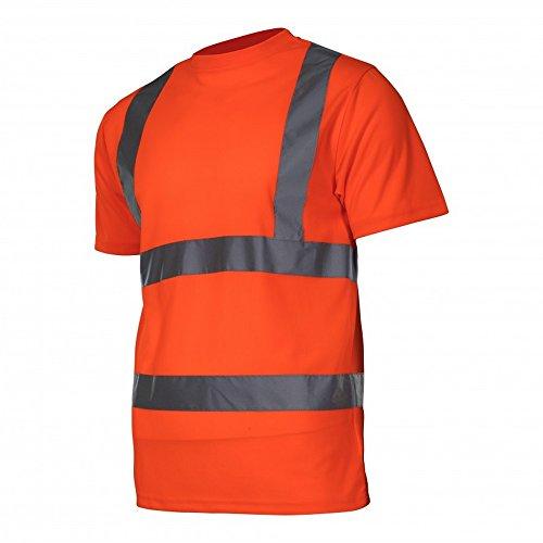 KREXUS T-Shirts Warnschutzkleidung Orange Gr. XL EX1210_XL