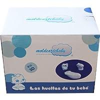 Material necesario para hacer en 3D las huellas De Las Manos y Pie del Bebé,  Un recuerdo inolvidable del Recién Nacido.(HASTA 3HUELLAS)