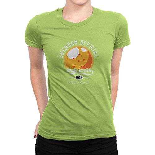 Planet Nerd DBZ: Make A Wish - Damen T-Shirt Kiwi