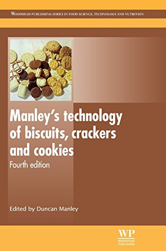 Manley S Technology of Biscuits, Crackers and Cookies (Woodhead Publishing Series in Food Science, Technology and Nutrition) by Duncan Manley (Editor) (31-Oct-2011) Hardcover par Duncan Manley (Editor)