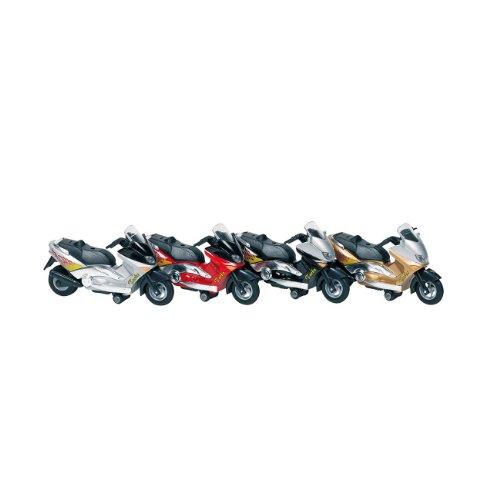 Motorroller mit Sirene + Licht, Spritzguss