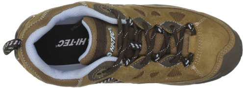 Hi-Tec Total Terrain Lace Wp Womens, Damen Sportschuhe - Wandern Gold (Honey/Dark Brown/Blue)