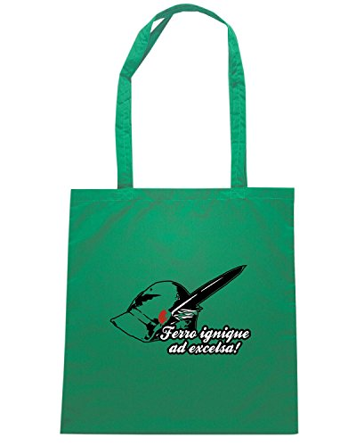 T-Shirtshock - Borsa Shopping T0102 Alpini FERRO militari Verde