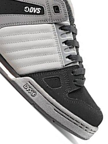 DVS Shoes Celsius, Baskets Homme Grey Black Leather