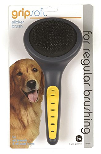 Artikelbild: JW Gripsoft Slicker Grooming Brush for Dogs (Size: Medium-Large)