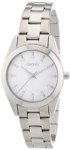 Reloj DKNY NY8619 de cuarzo para mujer con correa de acero inoxidable, color plateado de Dkny