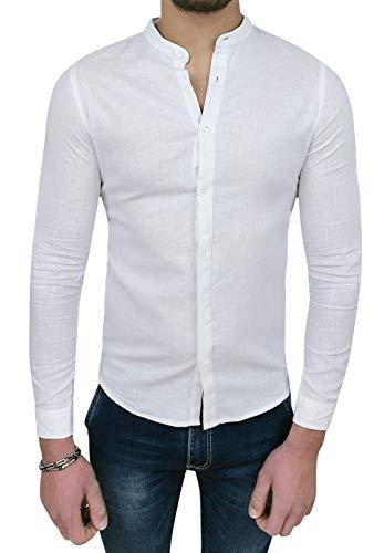 san francisco 0262e 43a31 Camicia lino uomo slim | Grandi Sconti | Camicie su misura