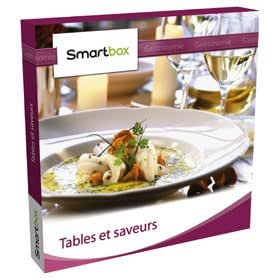 Coffret cadeau Smartbox - Tables et saveurs