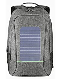 6b45e51c44 WYXIN Sac à dos anti-vol d'énergie solaire hommes pour 65 pouces ordinateur  portable externe USB chargeur…