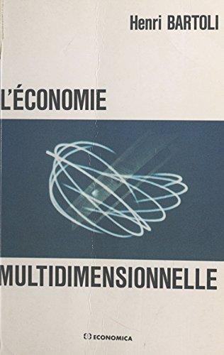 L'Économie multidimensionnelle