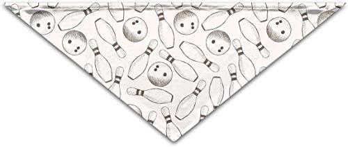 iuitt7rtree Bowling-Turban, dreieckig, Schal, Zubehör für Haustiere, Katze und Baby Welpen, Speicheltuch