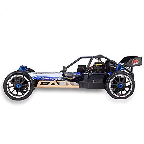 RC Auto kaufen Buggy Bild 5: Redcat Racing Rampage DuneRunner V3 4x4 Gas Buggy (1/5 Skala), Blau/Schwarz*