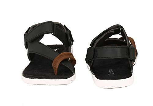 22d2dfd4599881 Fucasso Men s Synthetic Black Sandals - Fashion Exclusives