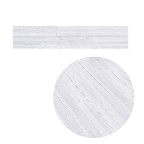 (Sunlera 5M Selbstklebende Holzmaserung Boden Kontakt Papier Covering PVC Herausnehmbare Dekorfolie Tapete Aufkleber)
