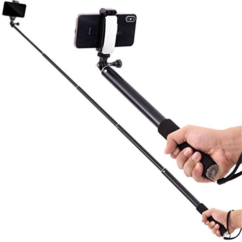 STEAM PANDA Palmare Selfie Stick telescopico Mini HD Photo / Video