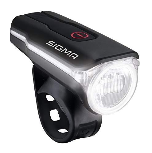 Preisvergleich Produktbild SIGMA SPORT Fahrradbeleuchtung AURA 60 USB,  60 LUX,  Frontlicht,  StVZO zugelassen,  wasserdicht,  USB wiederaufladbar,  3 Leuchtmodi