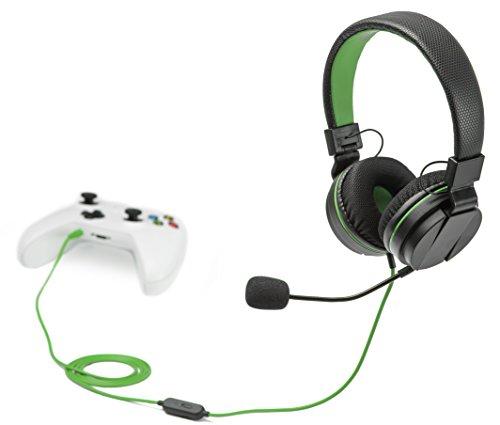 snakebyte Xbox One HEAD:SET X - Stereo Headset zur Verwendung mit sämtlichen Xbox One Konsolen & allen Geräten mit 3,5mm Audioanschluss - 1,2m Kabellänge