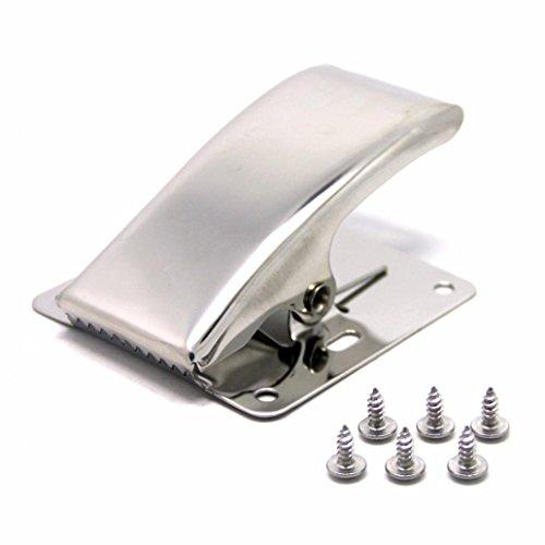 kangql Edelstahl Filet-Klemme Fisch Schwanz Clip für Reinigung Board Angeln Werkzeug