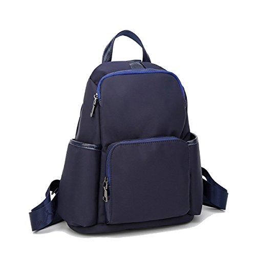 Weibliche Tasche Umhängetasche Oxford Tuch Klassisch Weiblich Mädchen Mode Freizeit Wild Einkaufen Blue
