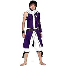 De-Cos Cosplay Costume Salamander Dragon Slayer Dragneel Natsu Outfit Set V4