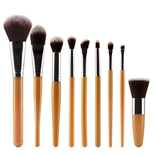 rosennie-9pcs-cosmetic-brush-makeup-brush-sets-kits-tools-silver-2