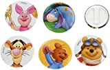 Disney Winnie The Pooh - Set of 5 Clip Badges - Party Bag Fillers