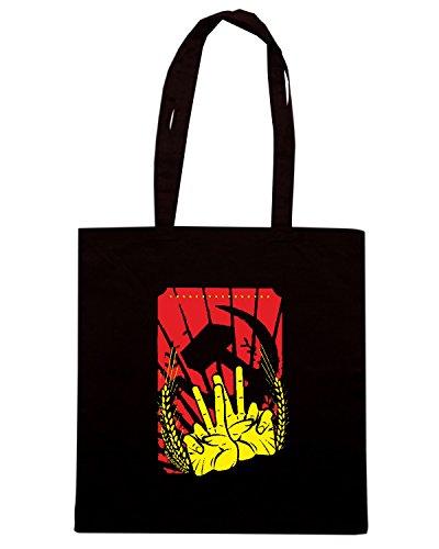 T-Shirtshock - Borsa Shopping TCO0012 comunismo propaganda Nero