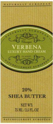 Natürlich europäischen Verbena Luxus Hand Creme 75ml -